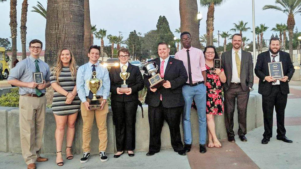 Debate team takes fourth in national competition