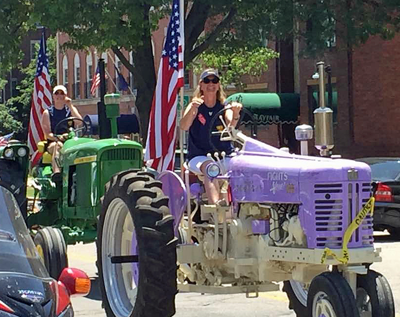 Moormeier organizes tractor drive around state capitol
